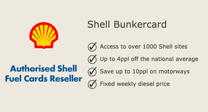 Shell Bunker Fuel Card